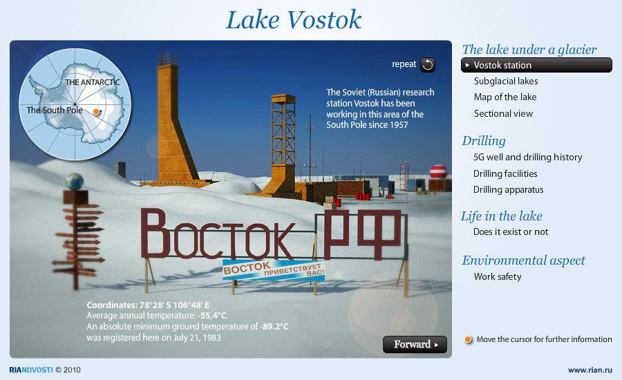 Lake Vostok - Sputnik International
