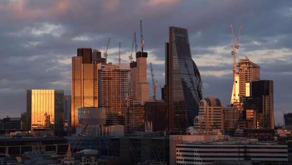 City of London skyline at sunset - Sputnik International