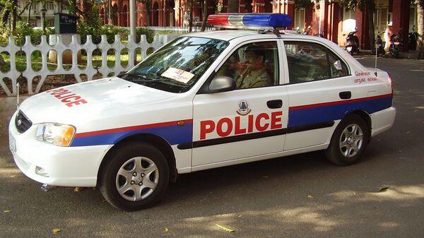 Indian police car - Sputnik International