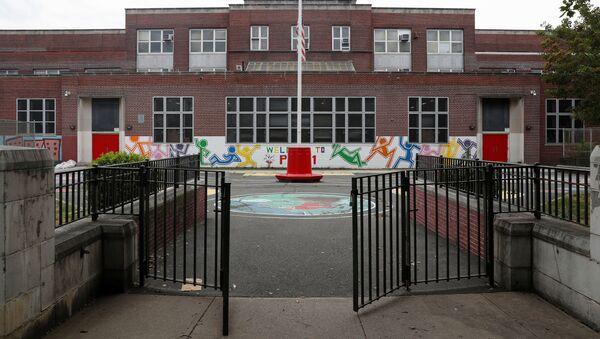 General view of Public School 111 in the Queens borough of New York City, New York, U.S., July 8, 2020 - Sputnik International