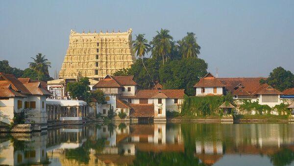 Sri Ananta Padmanābhasvāmi Temple in Thiruvananthapuram, Kerala, India - Sputnik International