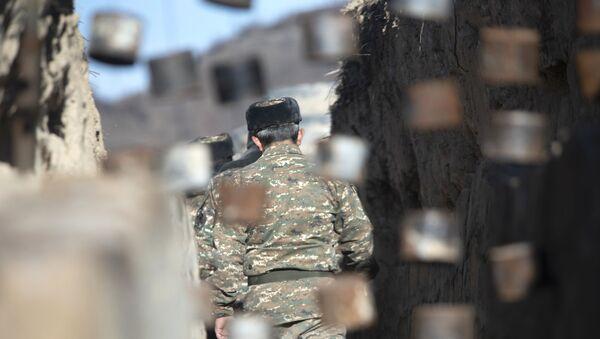 Armenia-Azerbaijan border - Sputnik International
