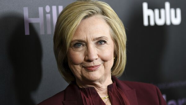Former secretary of state Hillary Clinton attends the premiere of the Hulu documentary Hillary at the DGA New York Theater on Wednesday, March 4, 2020, in New York - Sputnik International