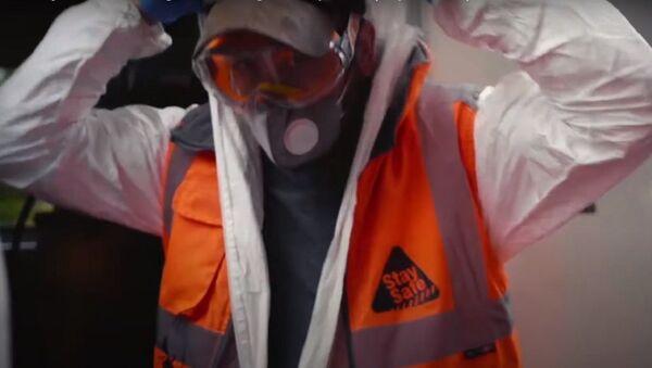 Banksy - London Underground Undergoes Deep Clean (July 14, 2020) - Sputnik International