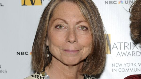 In this April 19, 2010, file photo, Jill Abramson attends the 2010 Matrix Awards presented by the New York Women in Communications at the Waldorf-Astoria Hotel in New York. Abramson, the former editor of The New York Times, says that Fox News took her criticism of the newspaper's Trump coverage totally out of context in a story that appeared Wednesday, Jan. 2, 2019 - Sputnik International