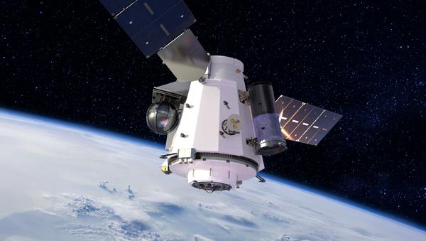 Artist's concept illustration of US Unmanned Orbital Outpost  - Sputnik International