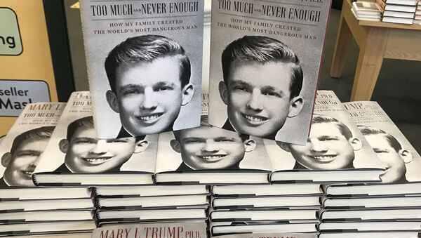 The book Too Much and Never Enough by Mary Trump is pictured in a bookstore in the Manhattan borough of New York City, New York, U.S., July 14, 2020. REUTERS/Carlo Allegri NO RESALES. NO ARCHIVES - Sputnik International