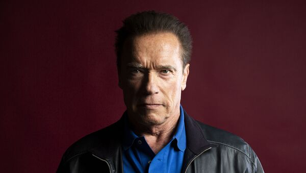 This Oct. 26, 2019 photo shows actor Arnold Schwarzenegger posing for a portrait to promote the film, Terminator: Dark Fate at the Four Seasons Hotel Los Angeles at Beverly Hills in Los Angeles - Sputnik International
