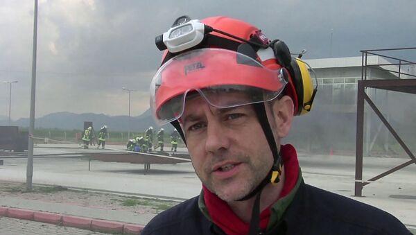 James Le Mesurier - Sputnik International