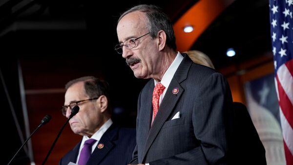 Chairman of the House Foreign Affairs Eliot Engel (D-NY) speaks during a media briefing after a House vote approving rules for an impeachment inquiry into U.S. President Trump on Capitol Hill in Washington, U.S., October 31, 2019. - Sputnik International