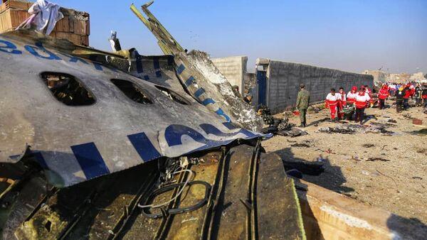 Ukrainian jetliner crashed in Iran - Sputnik International