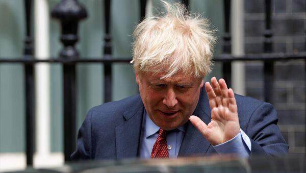 Britain's Prime Minister Boris Johnson - Sputnik International