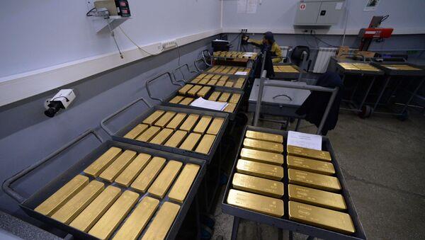 Russian gold bullions - Sputnik International