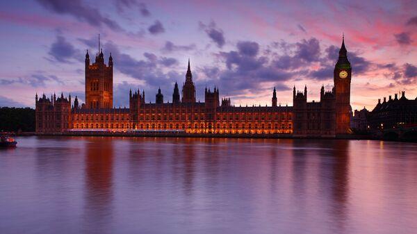 Houses of Parliament at dusk, London, UK - Sputnik International