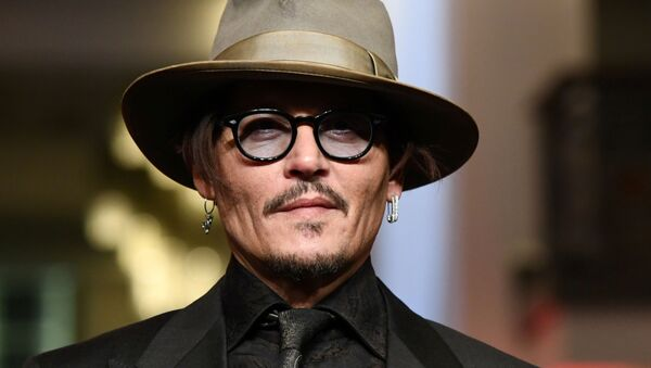 Actor Johnny Depp arrives for the screening of the movie Minamata during the 70th Berlinale International Film Festival in Berlin, Germany, February 21, 2020 - Sputnik International