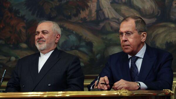 Lavrov and Zarif - Sputnik International