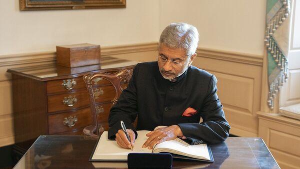 Indian Minister of External Affairs Subrahmanyam Jaishankar  - Sputnik International