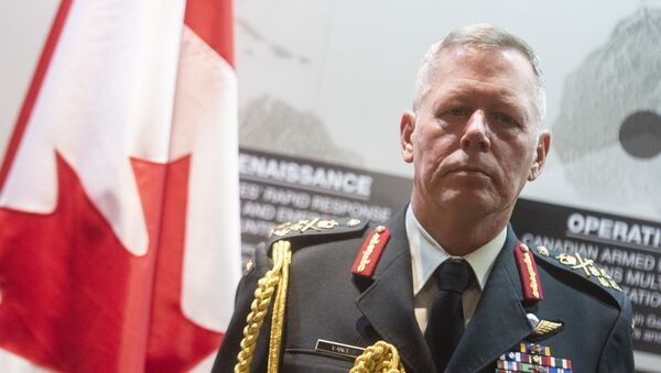 Canadian General Jonathan Vance, Chief of the Defence Staff - Sputnik International