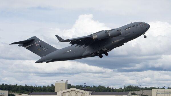 C-17 Globemaster III at Joint Base Elmendorf-Richardson, Alaska - Sputnik International