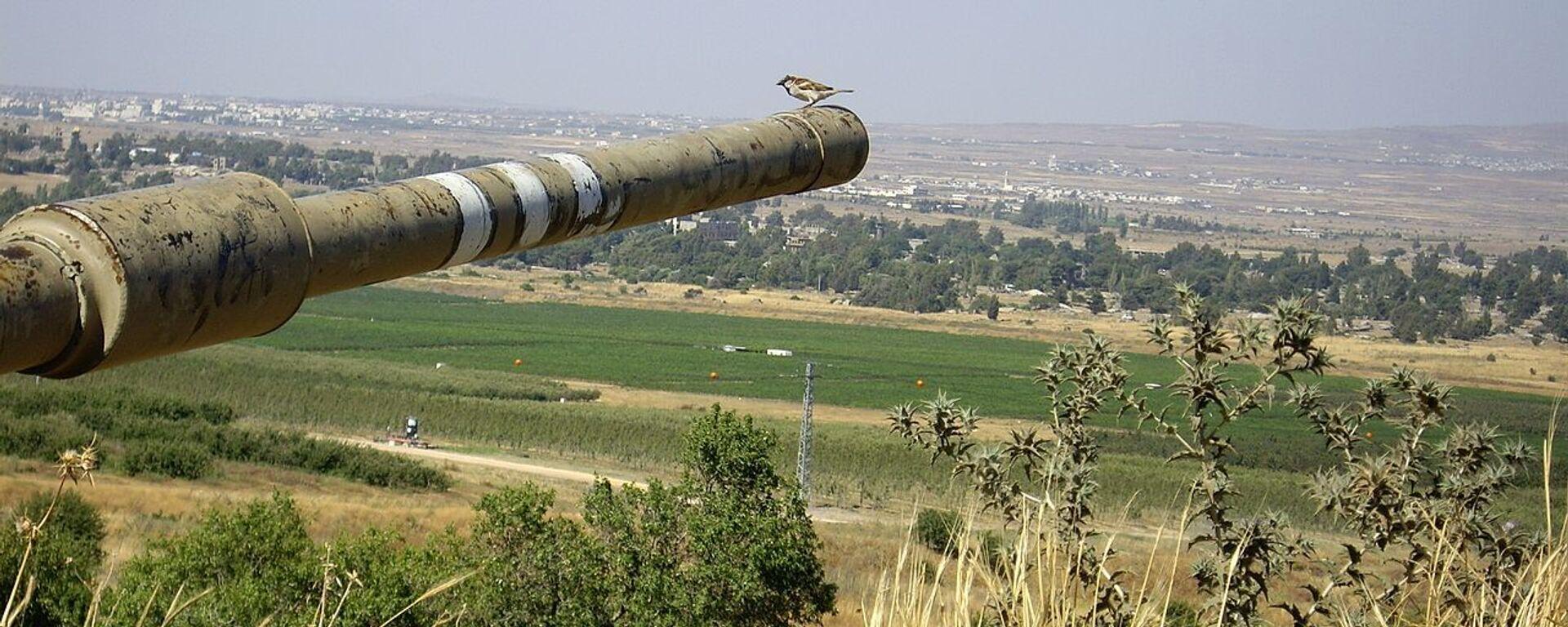 Israel-Syria border - Sputnik International, 1920, 17.08.2021