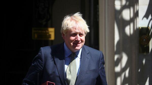 Britain's Prime Minister Boris Johnson leaves Downing Street in London - Sputnik International