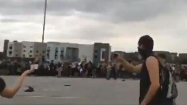 Shooting during a protest on I-225 highway in Aurora, Colorado - Sputnik International