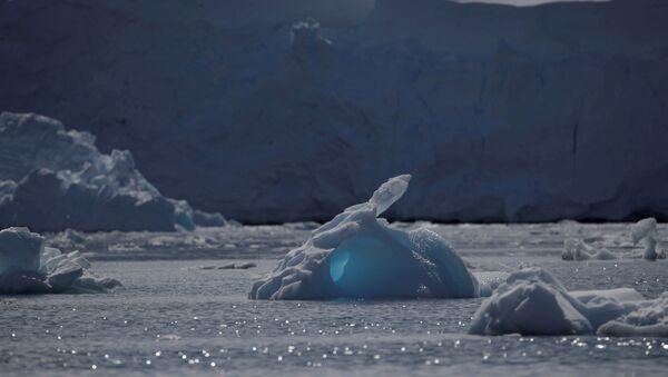 An iceberg floats along the water, close to Fournier Bay, Antarctica, 3 February 2020 - Sputnik International