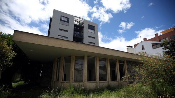 General view of the facade of the Venezuelan consulate, after it's been looted for months, in Bogota, Colombia July 28, 2020.  - Sputnik International