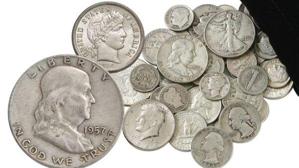 1892-1964 United States Silver Coins 1/4 Pound Bag - Sputnik International