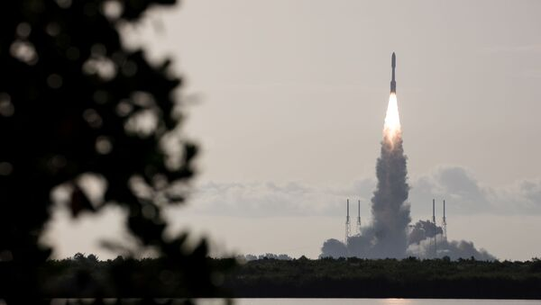 A United Launch Alliance Atlas V rocket carrying NASA's Mars 2020 Perseverance Rover vehicle takes off from Cape Canaveral Air Force Station in Cape Canaveral, Florida, U.S. July 30, 2020. - Sputnik International