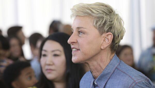 Ellen DeGeneres attends the premiere of Netflix's Green Eggs and Ham at the Hollywood American Legion Post 43 on Sunday, November 3, 2019 in Los Angeles - Sputnik International