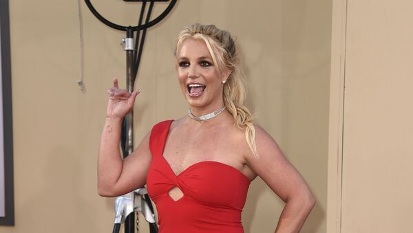 Britney Spears arrives at the Los Angeles premiere of Once Upon a Time in Hollywood at the TCL Chinese Theatre on 22 July 2019 - Sputnik International