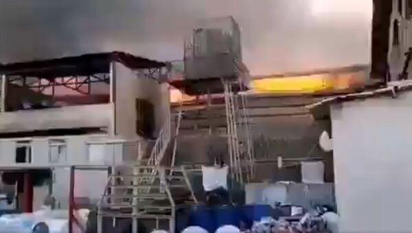 Fire in Industrial Area Near Tehran - Sputnik International
