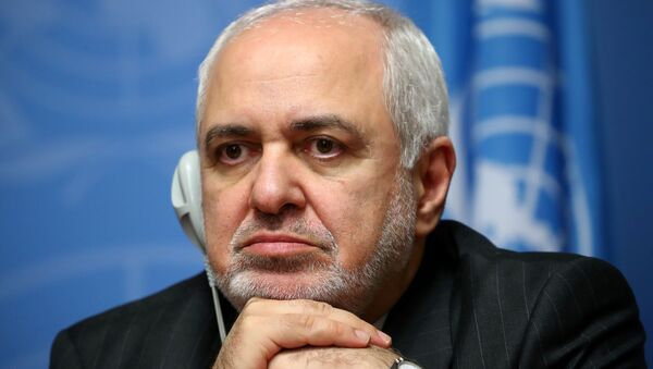 Iran's Foreign Minister Mohammad Javad Zarif attends a news conference at the Untied Nations in Geneva, Switzerland, October 29, 2019. - Sputnik International