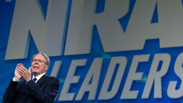 Wayne LaPierre, Executive Vice President and Chief Executive Officer of the NRA - Sputnik International