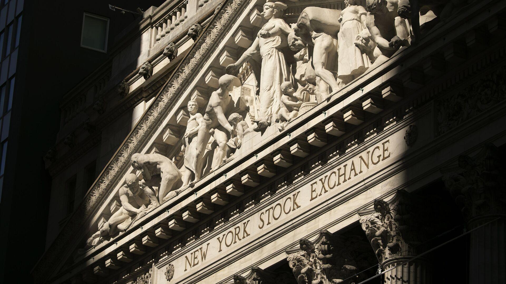 The New York Stock Exchange is shown, Tuesday, July 21, 2020. - Sputnik International, 1920, 23.09.2021