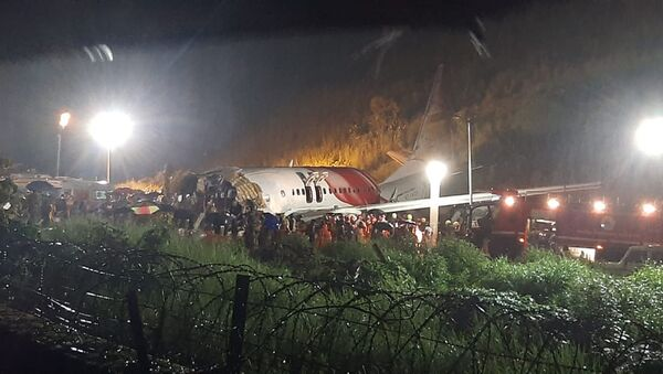 The Air India Express flight at the airport in Kozhikode, Kerala state, India - Sputnik International
