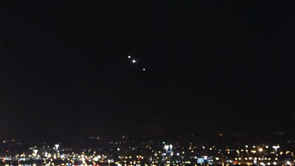 Mysterious lights in Las Vegas, August 6, 2020 - Sputnik International