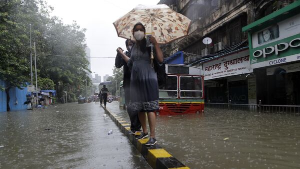 Rain in India - Sputnik International