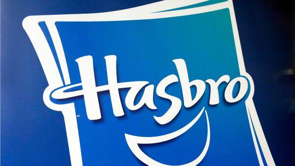 This 26 April 2018 file photo shows the Hasbro logo at the TTPM 2018 Spring Showcase, in New York. - Sputnik International