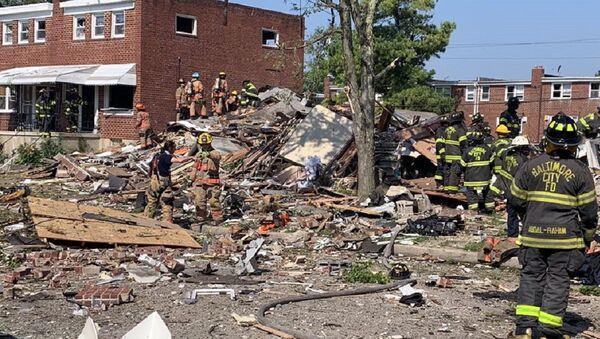 Baltimore explosion - Sputnik International