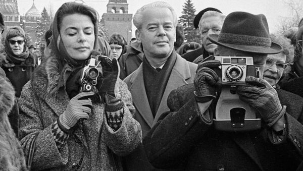 To Moscow With Love: Tourists Visiting the USSR and Modern-Day Russia - Sputnik International