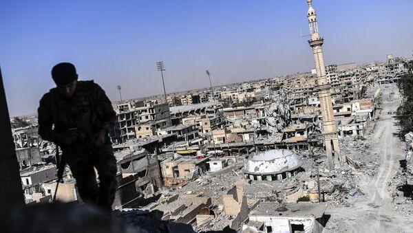 SDF Forces Militant - Sputnik International