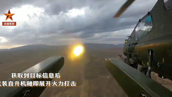 Watch Z-10 firing new missiles in live fire exercise. - Sputnik International