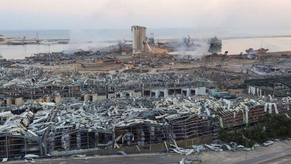 Aftermath of Beirut Explosion - Sputnik International