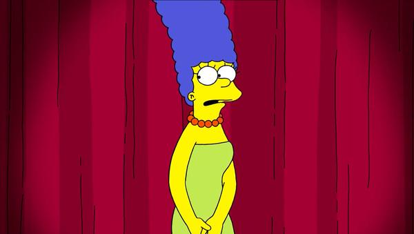 Screenshot of the video of The Simpsons' Marge Simpson responding to Trump's campaign adviser Jenna Ellis - Sputnik International