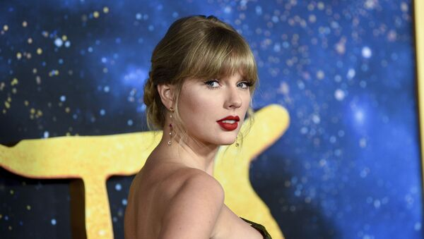 Singer-actress Taylor Swift attends the world premiere of Cats at Alice Tully Hall on Monday, Dec. 16, 2019, in New York - Sputnik International