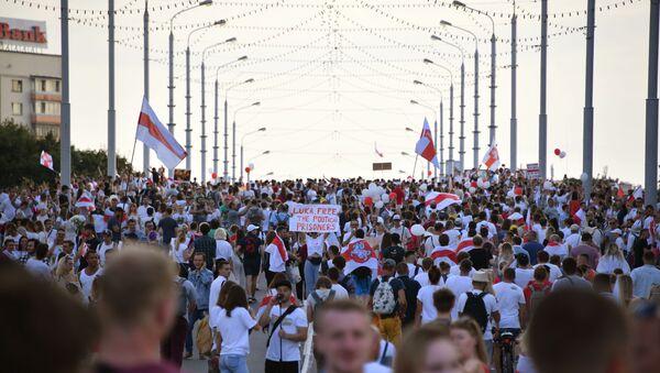Protests in Belarus - Sputnik International