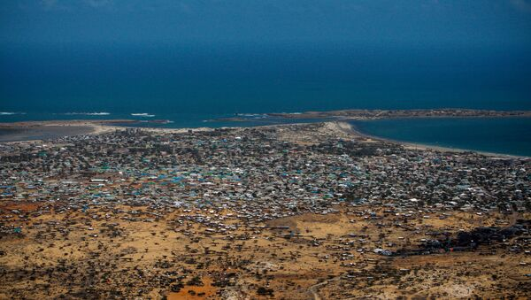 Aerial views of Kismayo - Sputnik International