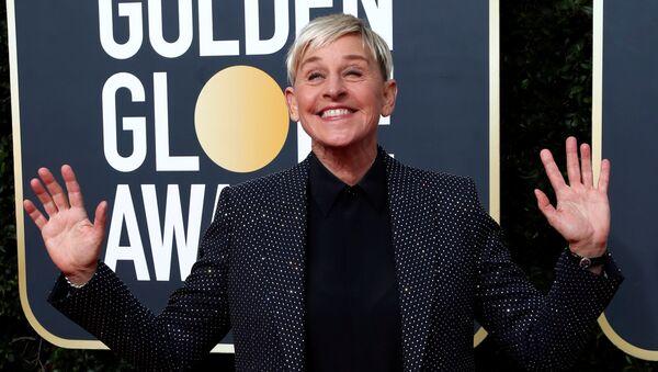 FILE PHOTO: 77th Golden Globe Awards - Arrivals - Beverly Hills, California, U.S., January 5, 2020 - Ellen DeGeneres - Sputnik International